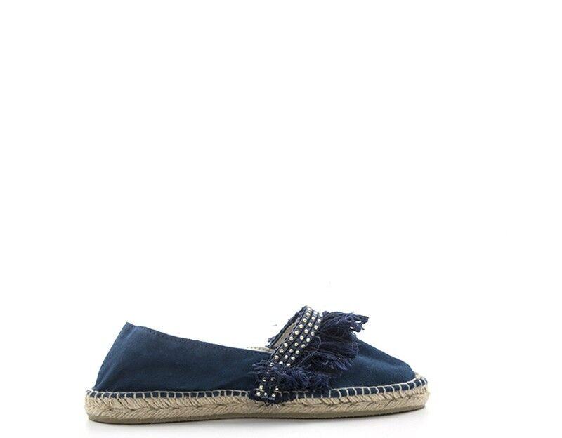 6a81eea5f90 zapatos mujer azul Tessuto ALPARGATA-FLECO-MARI ESPADRILLES Espadrillas  nwnjgj2059-zapatos nuevos