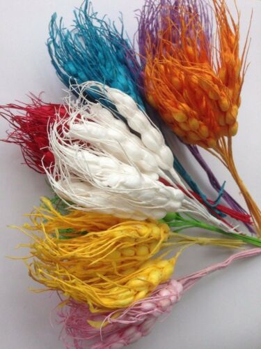 Small 10 Steams Wheat Imitation Bouquet Artificial  Stamen Wedding  12 cm