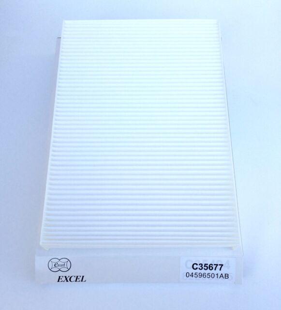 C35677 Carbonized Cabin Filter For Chrysler 300 Dodge Challenger Charger Magnum