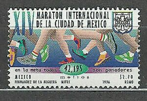 Mexico - Mail 1996 Yvert 1670 MNH Sports
