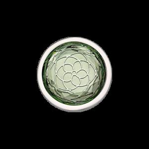 Coin-CS297-von-CEM-fuer-25-mm-Anhaengerrahmen-Edelstahl-synthetischer-Stein