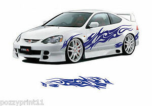 Car Ute Truck Bike Vehicle Side Decals Stickers Vinyl Graphics - Car side decals designpopular sport car graphicsbuy cheap sport car graphics lots from