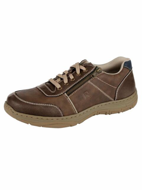 Rieker HERRENSCHUHE Sneaker HALBSCHUHE Gr. 42 braun 16300 27 lxmBt