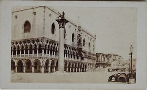 Carlo-Ponti-Venezia-Italia-CDV-Foto-Vintage-Albumina