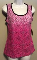 Women's Activewear made For Life Pink Tank Top Sleeveless