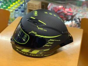 VR-46-Pista-Project-Fullface-Motorcycle-Helmet-High-Quality-Custom-Matte