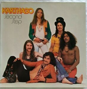 "KARTHAGO ⚠️Ungespielt⚠️1973 -12""Vinyl LP ""Second Step"" Brain 0040088-Germany"