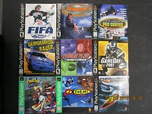 Details about SONY PLAYSTATION PS1 - LOT OF 10 ORIGINAL GAME MANUALS!! -  RANDOM ASSORTMENT!!