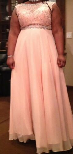 women's plus size prom dresses