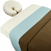 Massage Table Sheet Set With Blanket