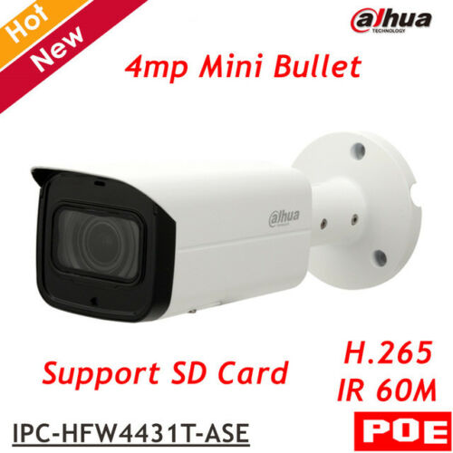 Dahua OEM 4MP POE WDR IR IP67 H.265 Camera  Smart Detection  IPC-HFW4431T-ASE