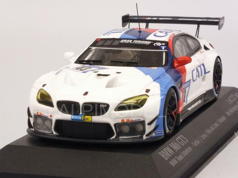 BMW M6 GT3 Team Schnitzer Nurburgring 2017 Farfus 1 43 MINICHAMPS 437172643