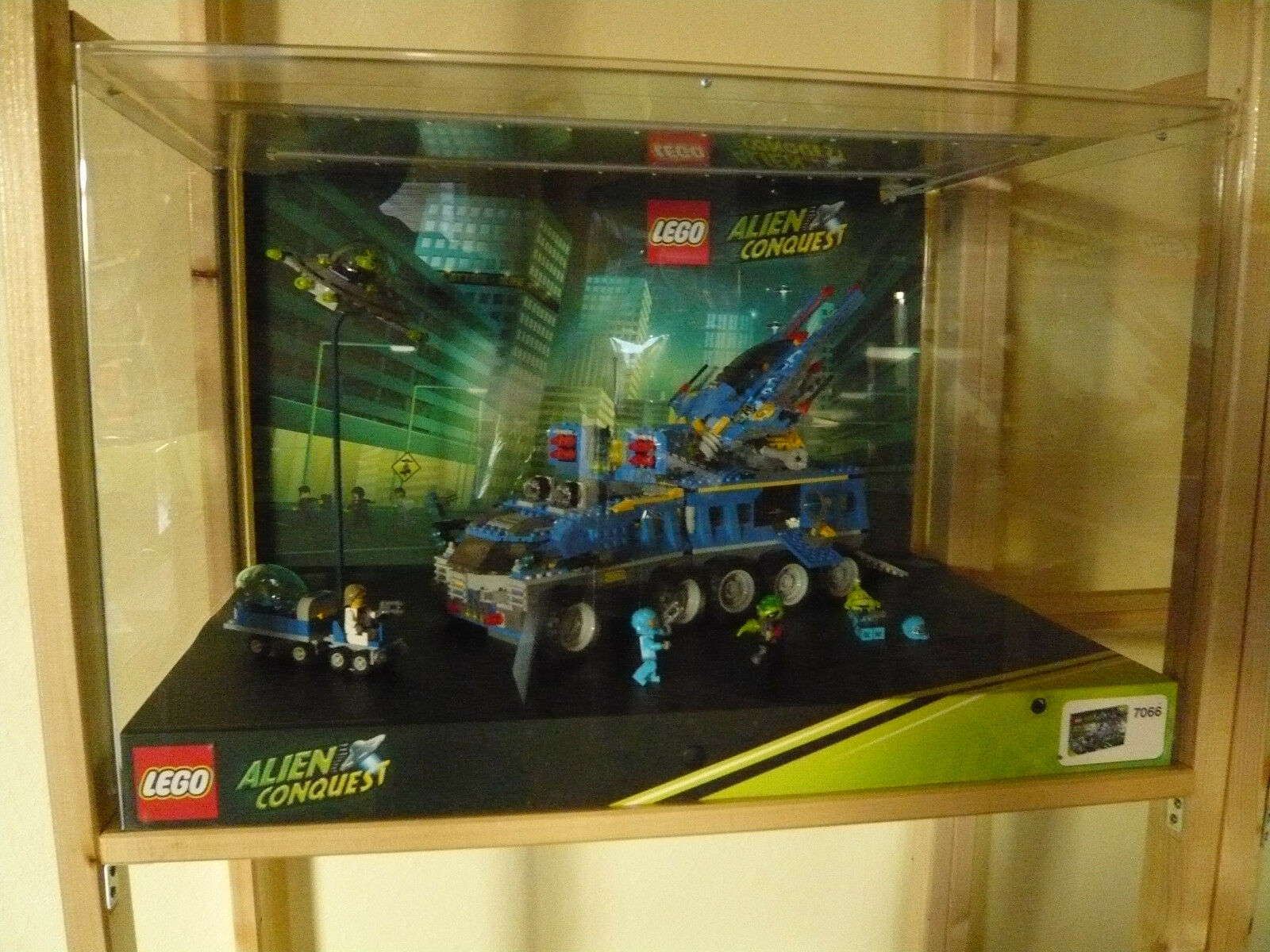 LEGO - Schaukasten - Alien Conquest - Art.7066 - Showcase