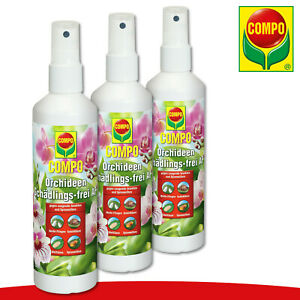 COMPO 3 x 250 ml Orchideen Schädlings-frei AF