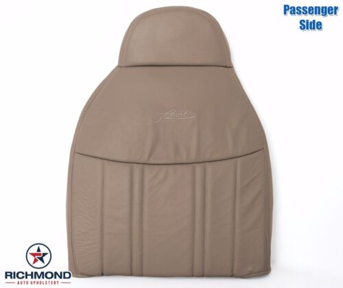 1998 Ford F150 Lariat Extended Cab Passenger Lean Back Leather Seat Cover Tan