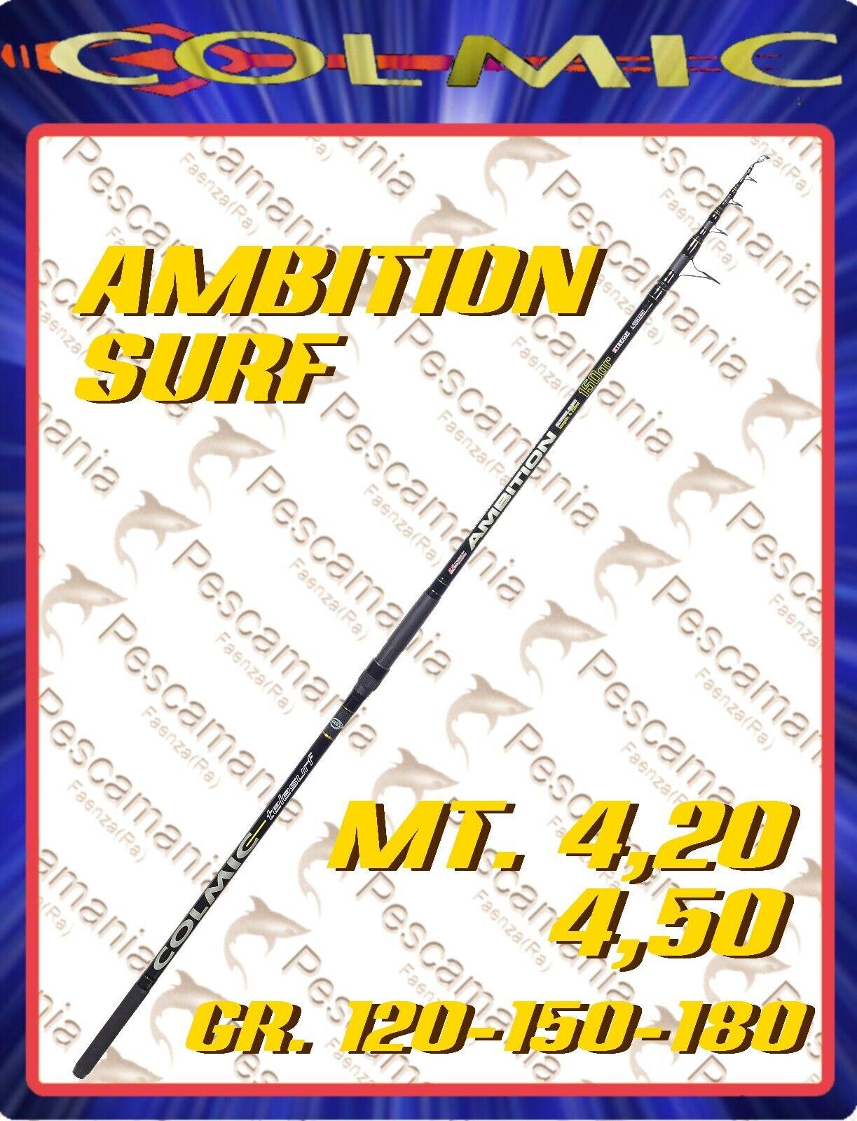Canna colmic Ambition surf mt.4,20 mt 4.50 120-150-180 gr. surf casting