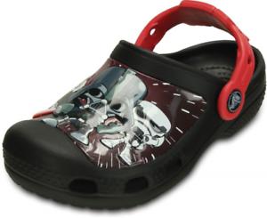 Crocs Kids Star Wars Darth Vader Clog Comfortable Indoors or Outdoors
