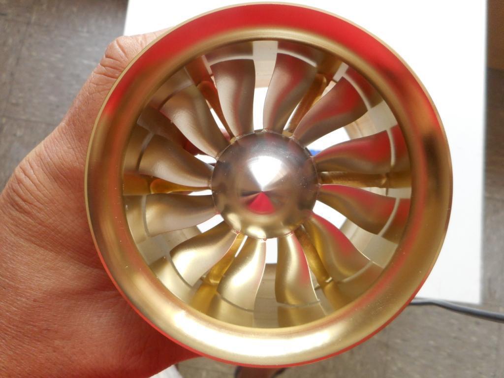 Tp Power 90mm CNC Ducted Fan Unidad 12B-4050 1000kv