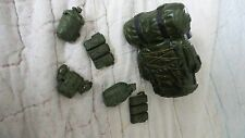 GI Joe Military Grab Bag Equipment for 12 in Figurine Inc. Large Knapsack