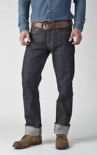 EDWIN JAPANESE SELVEDGE RAW DENIM Button Fly Jean in Dark Blue Size 30 X 34