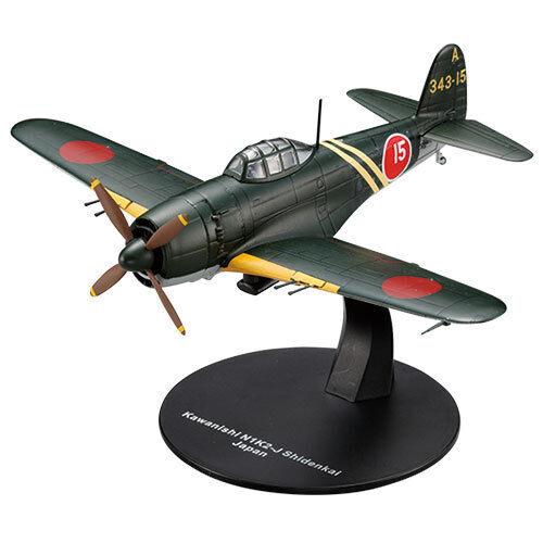 DeAGOSTINI WW2 Aircraft  Collection Vol 1 FIGHTER 1 72 Kawanishi N1K2J SHIDEN KAI  garantie de crédit