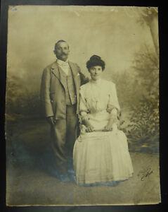 Photography Signed Stone Small (1832-1909) Family Burgat Algiers Algeria c1880