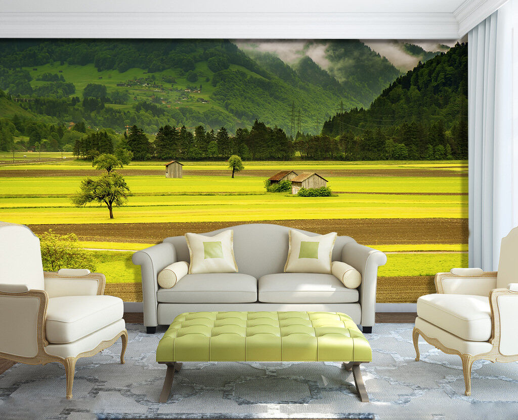 3D Farmland Crops 562 Wall Paper Wall Print Decal Wall Deco Indoor Wall