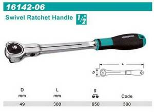 Whirlpower-1-2-034-Dr-Swivel-Ratchet-Handle-300mm-Automotive-Tools-NEW