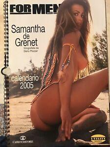 De Grenet Calendario.Dettagli Su Samantha De Grenet Calendario 2005 Pari Al Nuovo