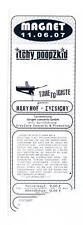 Itchy Poopzkid - Time To Ignite - Alte Eintrittskarte - Ticket 11.06.2007 Magnet