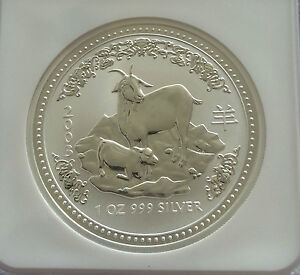 2003-NGC-MS69-Australia-1-Oz-Silver-Lunar-Year-of-the-Goat-1-Coin-Bullion