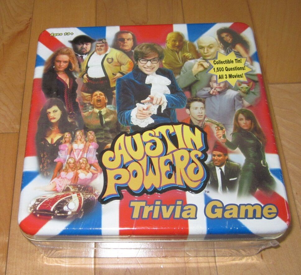 New Austin Powers Trivia Game 1500 Questions     All 3 Movies USAopoly 26e6d3