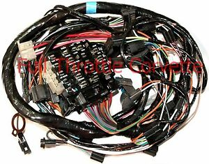 image is loading 1978-2nd-design-corvette-dash-wiring-harness-new