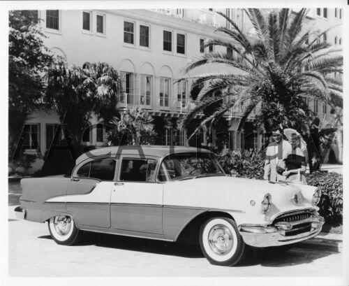1955 Oldsmobile Super 88 Four Door Sedan Ref. #60743 Factory Photo
