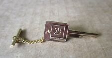 """GM """"Mark of Excellence"""" Tie Tack, 1970s"""
