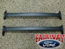 2001 Thru 2007 Escape OEM Genuine Ford Black Roof Rack Cross Bar Set 2 Piece