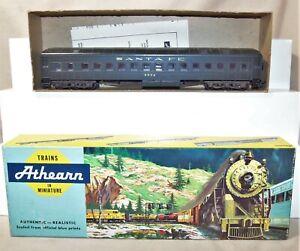 Vtg-Athearn-HO-Santa-Fe-Olive-Passenger-Car-Built-Rail-Ready-EXC-8585