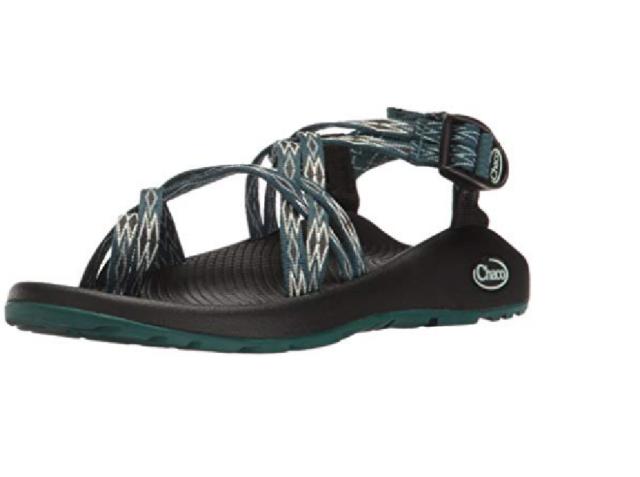 bae06ba77 Chaco Women s Zx2 Classic Athletic Sandal J106124 Angular Teal Free  Shipping NIB
