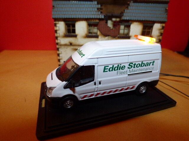 Oxford 1 76 Eddie Stobart fleet maintenance transit van with flashing lights