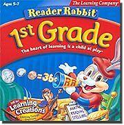 NEW Reader Rabbit 1st Grade Learning 772040814649