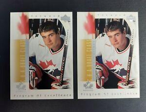 Patrick Marleau 1996-97 Upper Deck Hockey Rookie RC #384 ...