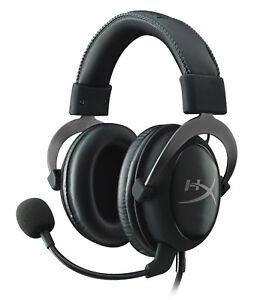HyperX-Cloud-II-Gaming-Headset-7-1-Virtual-PC-PS4-XBOX-GUNMETAL-RE-CERTIFIED