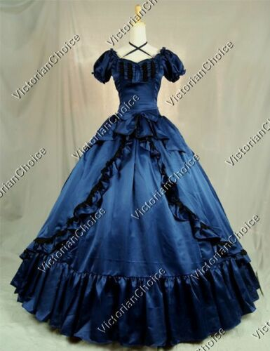 Victorian Dresses | Victorian Ballgowns | Victorian Clothing    Victorian Southern Belle Scarlett OHara Dress Ball Gown Theater Reenactment 206 $155.00 AT vintagedancer.com