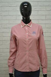 LA-MARTINA-Camicia-Donna-Taglia-Size-3-M-Maglia-Shirt-Woman-Manica-Lunga
