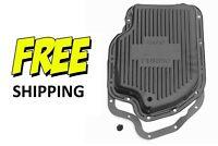 Chevy Turbo 400 Transmission Pan Steel W/ Gasket & Plug Ready To Install