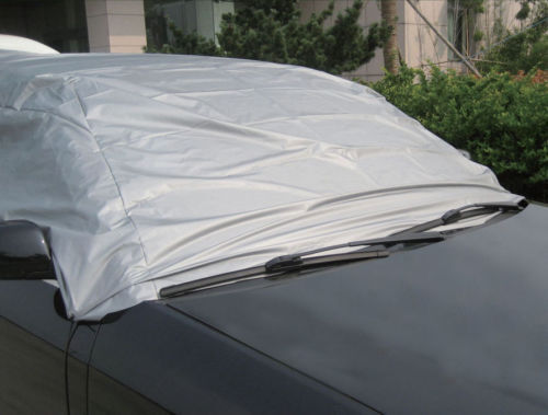UV RESISTANT CAR TOP COVER ALL WEATHER PROTECTION CAR COVER WITH HOOKS /& STRAPS