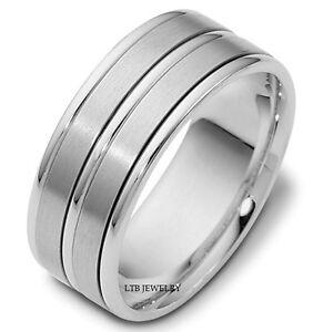 anello da uomo platino