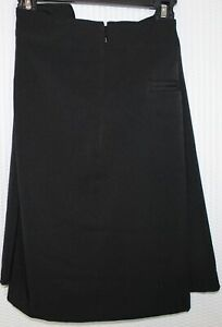 Lady Hagen Women's Essential Woven Golf Skort, Size 16, Black, WGH17110