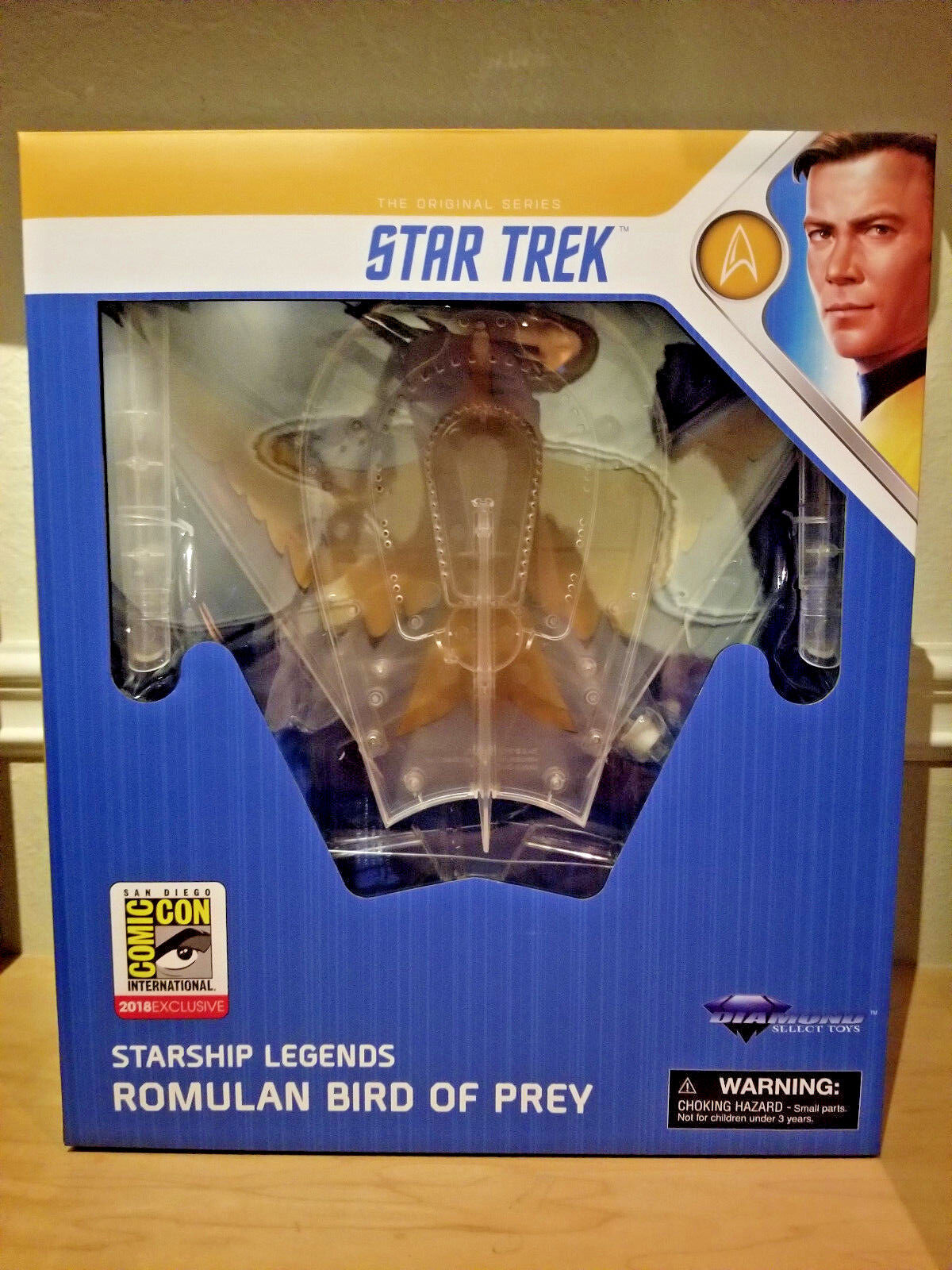 Sdcc 2018 Estrella TREK ROMULANO Ave de presa ocultos Diamond Select Exclusivo