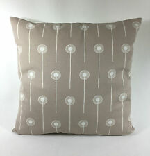 "St Jude's Dandelion Two  - Stone  Cushion Cover  - By Angie Lewin 17 ""x 17"""